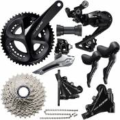 Shimano 105 R7020 Disc Groupset