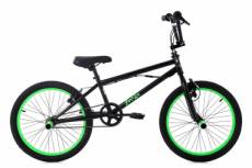 Bmx freestyle ks cycling yakuza 20 noir vert fluo