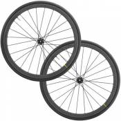 Mavic Ksyrium Pro Carbon SL UST DB TDF Wheels 2020 - Noir - Centre Lock