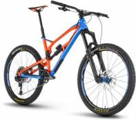 VTT Nukeproof Mega 275 Pro 2018 - Bleu - Orange - Large