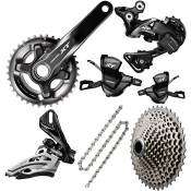 Groupe complet transmission Shimano XT 2x11