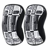 Genouillères Rocktape Assassin (5 mm) - Medium Noir
