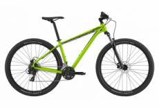 Vtt semi rigide cannondale trail 8 29 shimano 8v acid green 2020 m 162 172 cm