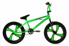 Bmx freestyle ks cycling cobalt 20 vert fluo