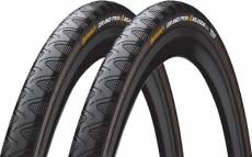 Pneu Continental Grand Prix 4 Season (28 c, lot de 2) - Noir - 700c