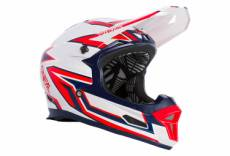 Casque integral o neal fury rapid gris rouge m 57 58 cm