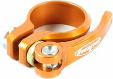 Collier de selle et raccord rapide Hope - Orange - 34.9mm