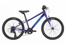Vtt semi rigide enfant cannondale kids quick 20 7v ultra violet 2020 5 9