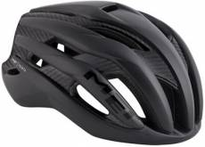 Casque route MET Trenta Carbone - Black-Carbon