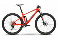 Vtt tout suspendu bmc fourstroke 01 three shimano deore 12v 29 rouge electric 2021 l 180 188 cm