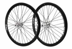 Paire de roues pride racing highmod pro carbon ud gloss rival disc high polished 24