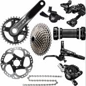 Groupe Shimano XT 1x11 - 175mm 32t RH Front Noir Groupes complets