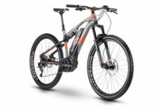 Vtt tout suspendu electrique r raymon fullray e nine 6 0 sram nx 11v gris orange 2020 46 cm 170 180 cm