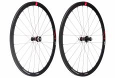Paire de roues fulcrum racing 4 disc centerlock 12 15x100 12x142mm corps campagnolo