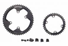 Kit plateaux rotor rond cover ultegra dura ace 9100 53 39