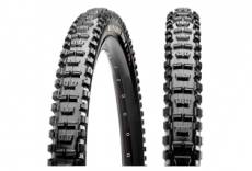 Pneu vtt maxxis minion dhr ii 27 5 tubeless ready souple exo protection dual compound 2 60