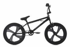 Bmx freestyle ks cycling rise 20 noir gris