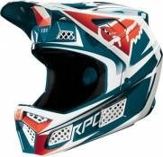 Casque Fox Racing Rampage Pro Beast (carbone) - Bleu