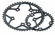 Stronglight plateau exterieur campagnolo compact 110mm ct2 52 dents 10v noir