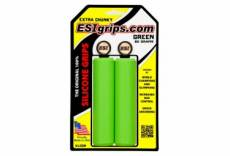 Paire de grips silicone esi extra chunky 34mm vert