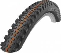 Pneu VTT Schwalbe Rock Razor Addix SuperGravity - Noir - Orange - Addix Soft