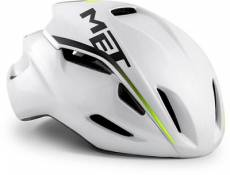 Casque de route MET Manta 2019 - White Pearlescent
