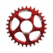 Plateau Blackspire Snaggletooth Cinch - 3mm BOOST - Rouge - 28t, Rouge