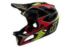 Casque troy lee designs stage ropo rose jaune xs s