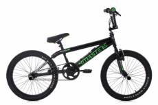 Bmx freestyle ks cycling 4masters 20 noir vert