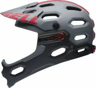 Casque Bell SUPER 2R Titane mat/Rouge - S (52-56)