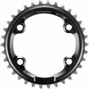 Shimano XTR M9000 single Chainring - 34t - Gris - 4-Bolt, Gris