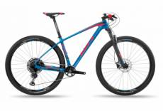 Vtt semi rigide bh ultimate rc 7 0 shimano slx xt 12v 29 bleu rouge 2020 xl 186 195 cm