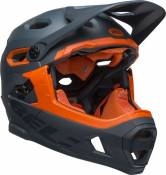 Casque Bell Super DH MIPS Gris/Orange - 52-56 cm