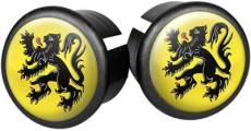 Velox Flag Bar End Plugs - Flanders
