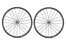 Paire de roues fulcrum racing zero carbon disc tubeless 15 12x100mm 12x142mm corps shimano sram 2019