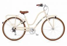 Beach cruiser electra townie commute 8d eq lad crm shimano tourney 8v cream blanc 2020