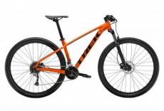 Vtt semi rigide trek 2019 marlin 7 29 shimano acera 9v orange 21 5 pouces 186 196 cm