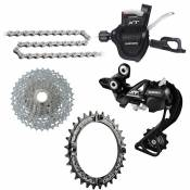 Groupe complet Shimano XT 1x10 vitesses