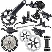Shimano XT M8120 1x12 Speed Groupset - Noir - 10-51