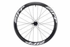 Roue arriere zipp 303 firecrest tubeless disc 650b 9x135mm 12x142mm corps campagnolo stickers blanc