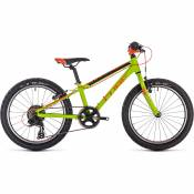 Cube Acid 200 Kids Bike 2020 - Kiwi - Black - Orange - 20\