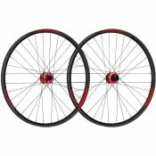 Paire de roues VTT Spank Oozy Trail 395+ Boost - 27.5+' 27.5' Red 2
