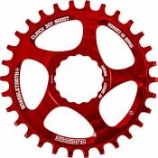 Plateau Blackspire Snaggletooth NW Cinch BOOST - 30t Rouge   Plateaux