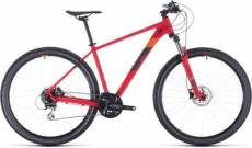 Cube Aim Race 29 Hardtail Mountain Bike 2020 - Red - Orange - 43cm (17)\