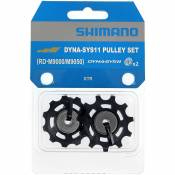 Shimano RD-M9000 XTR 11 Speed Jockey Wheels - Noir, Noir