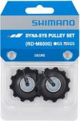 Shimano RD-M6000 Deore 10 Speed Jockey Wheels - Noir