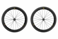 Paire de roues mavic crossmax pro carbon wts 27 5 boost 15x110 mm 12x148 mm corps xd pneu pulse 2 25