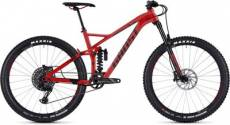 Vélo tout suspendu Ghost Slamr 6,7 27,5 2019 - Night Black-Neon Red\