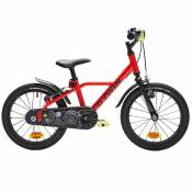 VELO 16 POUCES 4,5-6 ANS 900 ALU RACING ROUGE - Btwin