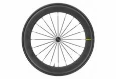Roue avant mavic 2020 ellipse pro carbon 65 ust 10x100 mm